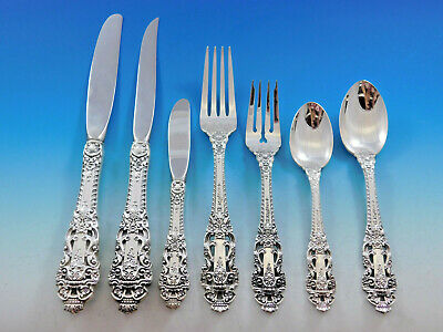 Sterling Silver Flatware Gorham Crown Baroque Master Butter HH
