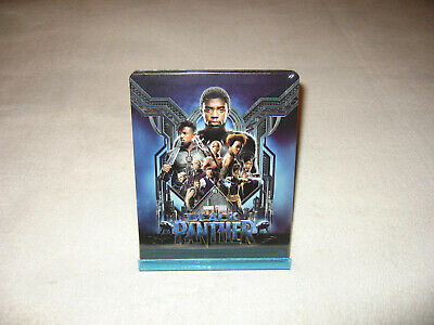 Black Panther [Blu-ray 3D & 2D Steelbook - Blufans BE48] (steelbook neuf)
