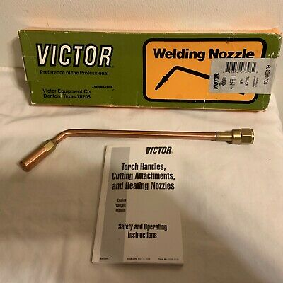 4-MFA-1 Heating Nozzle Tip Rosebud Fits Victor 100 Series Torch GENUINE VICTOR