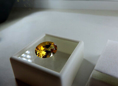 "Sweet 5.00ct Ural Mountain, Russian Citrine.""SUPERIOR QUALITY"" Cut by me :)"