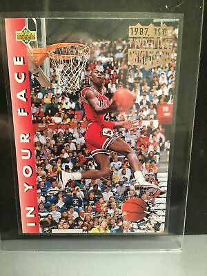 Michael Jordan 1992 Upper Deck Slam Dunk + HoloFoil Signature Lot- FREE SHIPPING