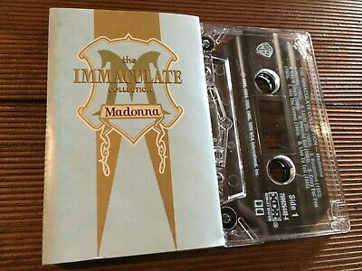 MADONNA...IMMACULATE COLLECTION - -1990 Australian Cassette LUCKY STAR, HOLIDAY