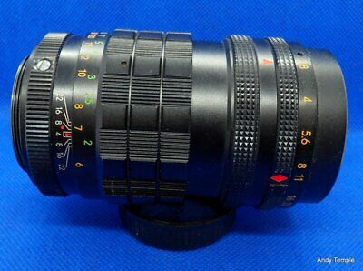 Optomax 135mm f2.8 PreSet lens M42 Mount Slight fungus