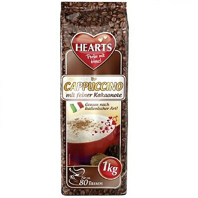 Hearts Cappuccino with Fine Kakaonote 10 x 1kg Typical Italian