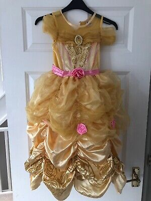 Girls Beauty and the Beast Belle Costume Age 6-7