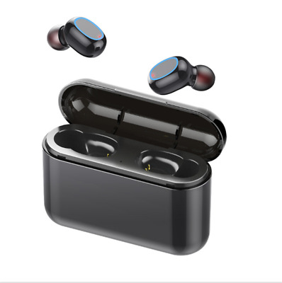 Bluetooth 5.0 TWS True Wireless Touch Mini Earbuds Headphones Headset Waterproof