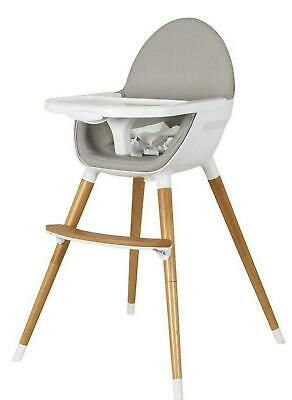 NEW Childcare The Pod Timber High Chair (Natural) Baby Chair #095100-018