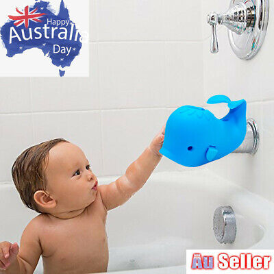 Baby Bath Tap Tub Safety Cover Protector Guard Edge Corner Cute Whale AU
