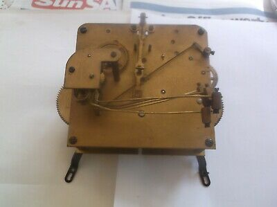 5 HAMMER 4X4 MECHANISM (german)  FROM AN OLD  MANTLE CLOCK WORKING REF MO 23