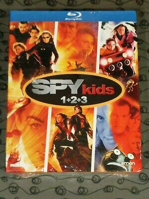 Blu Ray Bluray Trilogia Spy Kids 1+2+3 Nuevo Precintado