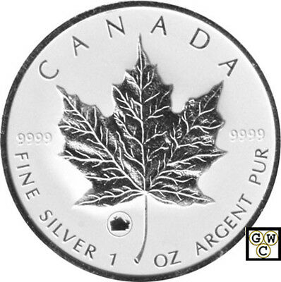 2009 Ox Privy Mark Silver Maple Leaf 1oz .9999 Fine Coin (12531) (NT)