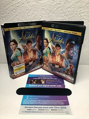 Aladdin 2019 Live Action 4K Disc + Digital HD (NO BLU RAY DISC INCLUDED) Read
