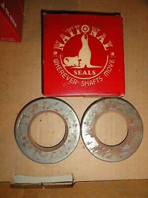 NORS 1935-50 PACKARD FRONT WHEEL SEALS 6 Cyl 115 1600 1700 8 Cyl 120 316756