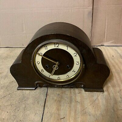 VINTAGE ART DECO HAC Mantle Clock A7