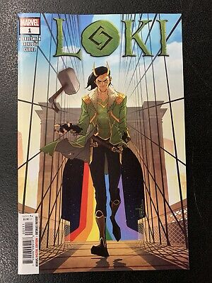 Loki #1 (2019) Marvel Comics Main Cover Kibblesmith Bazaldua