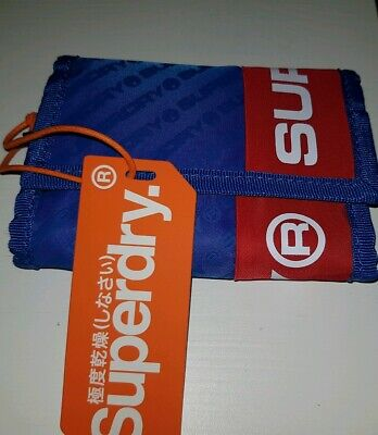 Men's / Women's Superdry Hamilton Wallet - Cobalt Blue.New with tags.
