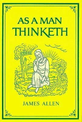 As a Man Thinketh  (NoDust) by James Allen