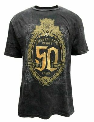 2019 Disney Parks Haunted Mansion 50th Anniversary T-Shirt Size M Medium NEW!