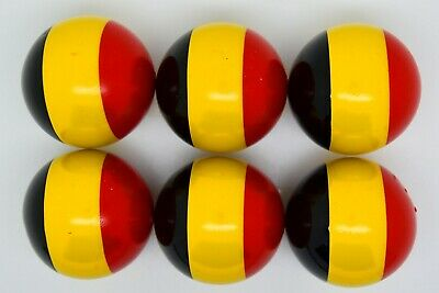 Yellow Lazure Coches For Petanque//Boules Different Quantitys Available
