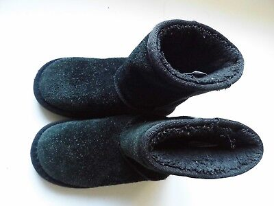 Soulcal&Co Girls Black Warm Boots Size UK 11 / EU 29 VGC - FREE POST