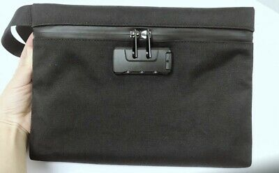 New Money Safe Bag With Combo Lock Smell Proof