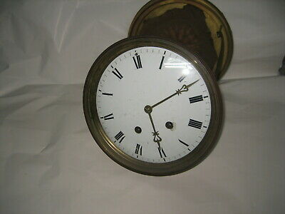 """Huge 8-1/2"""" dialed French H&H Clock Movement"""
