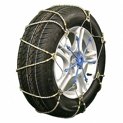 """A1046 Lightning """"Z"""" Style Emergency Traction Snow Cable Chains Passenger Vehicle"""