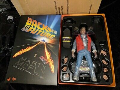 Hot Toys Back To The Future Marty McFly Action Figure doll 1/6 outfit BTTF