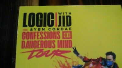 Logic with J.I.D. & Ybn Cordae Tour & NF The Search Tour-Promotional Flyer