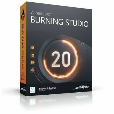 Ashampoo Burning Studio Pro 20✔️ Lifetime Activated✔️  Instant Delivery