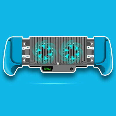 Handle Grip Stand Heat Dissipation Cooling Charging For Nintendo Switch/Lite