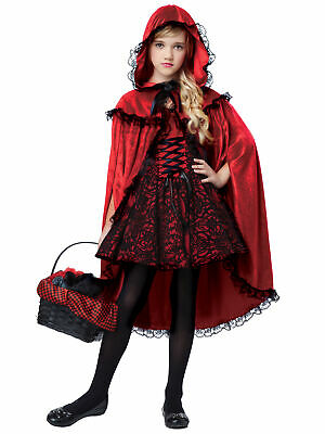 Deluxe Little Red Riding Hood Fairytale Storybook Book Week Girls Costume