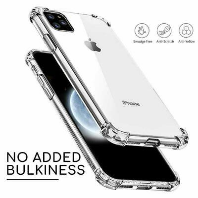 Shockproof Case For iPhone 11 Pro Max XS XR X 8 7 6+ Transparent Silicone Cover