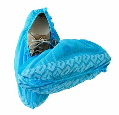 Premium 100 Pack(50 Pairs )Disposable Boot/Shoe Covers-Water Resistant sz.11-13