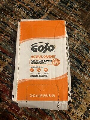 GOJO 2000 ml Refill Gray PRO Natural Orange Citrus Scented Pumice Hand Cleaner