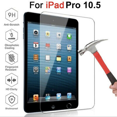 For Apple iPad Pro 10.5 inch HD Clear Tempered Glass Screen Protector