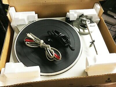 Technics SL Stereo 33/45 RPM Turntable Record Player With Box (Works Great!!!)