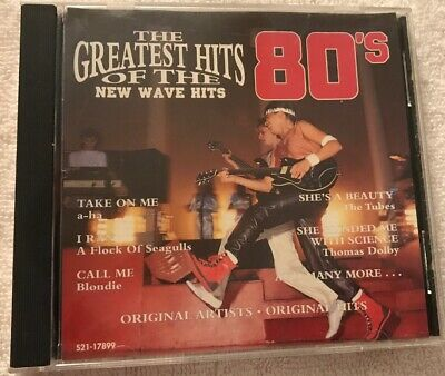 THE GREATEST HITS 80'S CD (New Wave Hits) - $29 99   PicClick