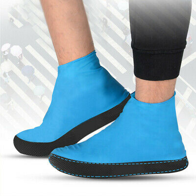 Silicone Overshoes Rain Waterproof Shoe Covers Boot Cover Protector Portable UK
