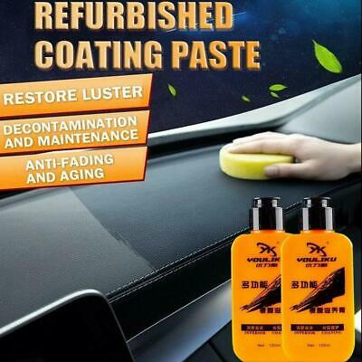120ml Auto Leather Renovated Coating Paste Maintenance Agent Dust-proof