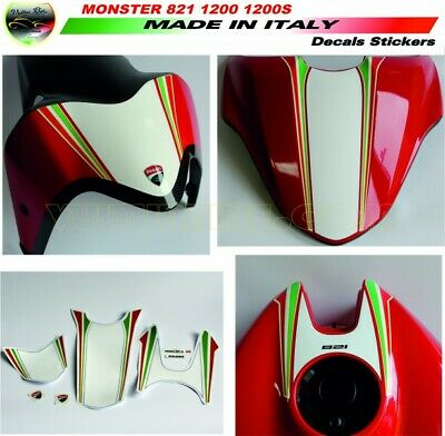 Decal kit Tricolore Monster 821 1200 1200S