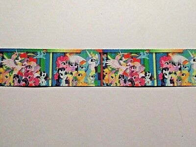 """My Little Pony Ribbon 1/"""" Wide 1m is only £0.99 NEW UK SELLER"""