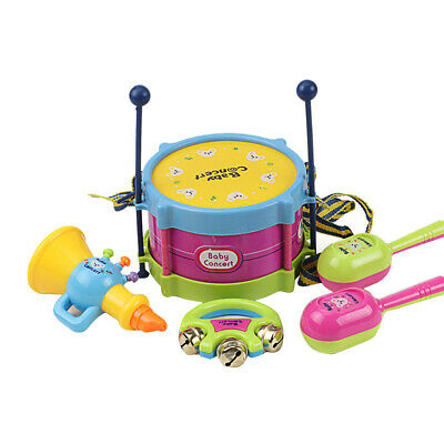 Drum Trumpet Educational Set Baby Children Percussion Early Education Toys
