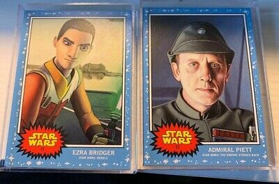 2019 Topps Star Wars Living Set Card #19 Ezra Bridger In Hand Ssp, Pr=1375