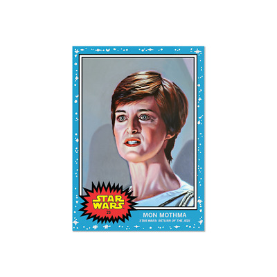 2019 Topps Star Wars Living Set Card #23  Mon Mothma In Hand