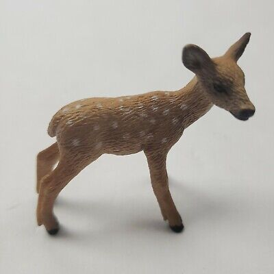 Schleich White Tail Doe Deer Wild Life Figure Toy Figure Cake Topper 14710 NEW