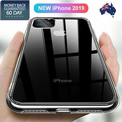 For iPhone 11 Pro Max Case XS 8 7 TPU Back Ultra Slim Clear Soft Silicone Cover
