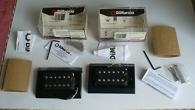 DIMARZIO DP192 & DP193 Guitar Humbucker Pickup Set REG SPACED