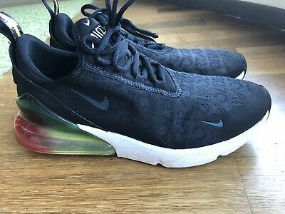 closer at details for new product NIKEAIR MAX 270 Herren gebraucht Schwarz Sneaker Turnschuhe ...