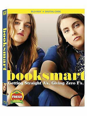Booksmart ** Blu-ray ** includes digital and slipcover ** excellent